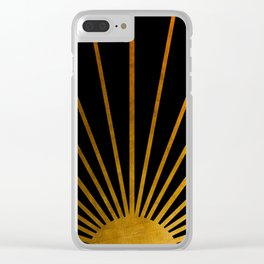 Magical Sunlight Clear iPhone Case