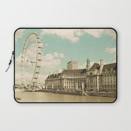 London Eye Love You Laptop Sleeve