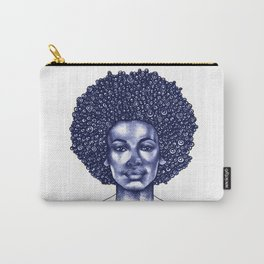 Spiral Afro Carry-All Pouch