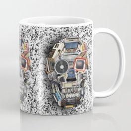 retro tech skull 5 Coffee Mug