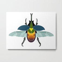 Not a VW Beetle Metal Print