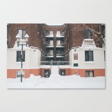 Empty Streets Canvas Print