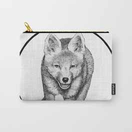 The Fox Running - Animal Drawing Series Carry-All Pouch