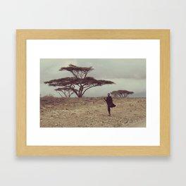 Serengeti Muvulana Framed Art Print