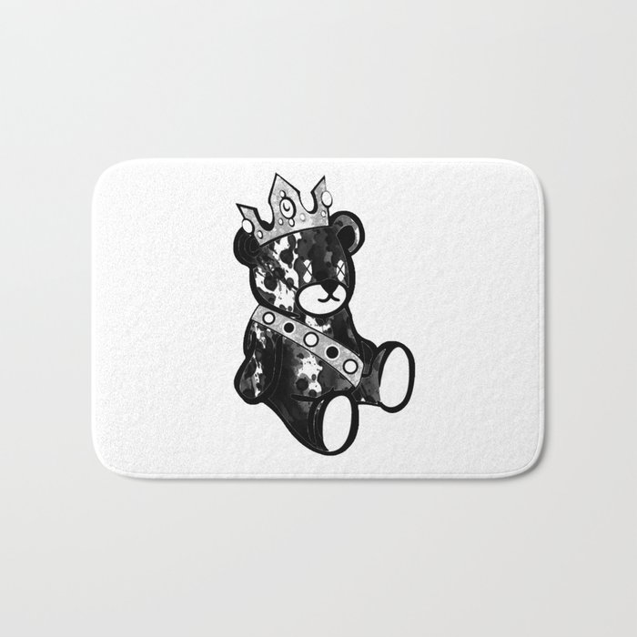 Bear King Splash Bath Mat