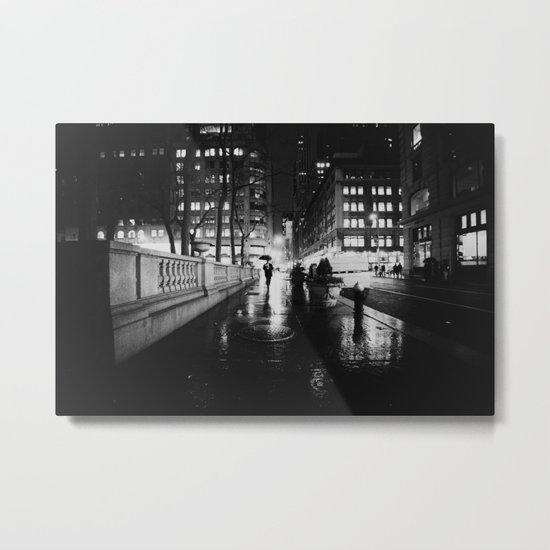 New York City Noir Metal Print