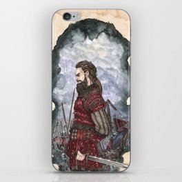Tyr God of war and justice iPhone Skin