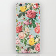Floral B iPhone & iPod Skin