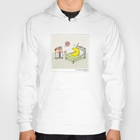 pac man Hoodies featuring Pac Man problems by Masonic Comics