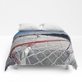 Pond Hockey Comforters