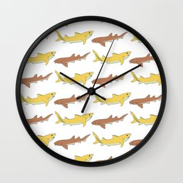 Shark Bros 6 Wall Clock