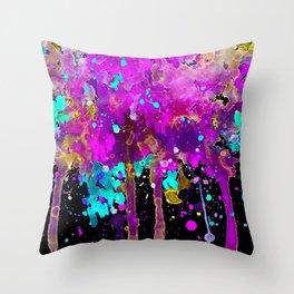 Confetti Pink Throw Pillow