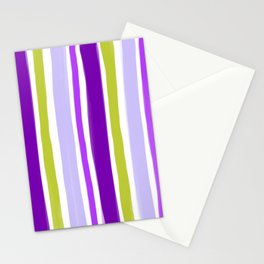Waiting for spring stripes Stationery Cards