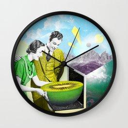 Loin Fruit Wall Clock