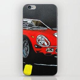 Red Car iPhone Skin