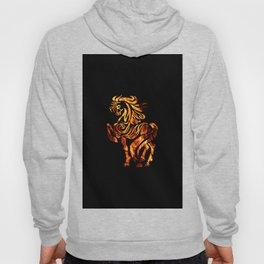 Tribal Design - Horse - Fire Hoody