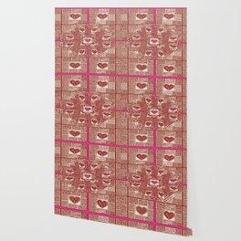 Sinking Heart Love Pattern 3 Wallpaper