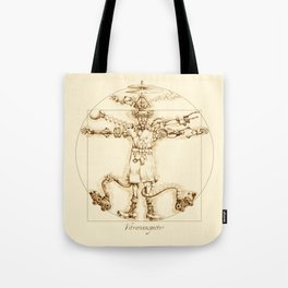 Vitruvianspector Tote Bag