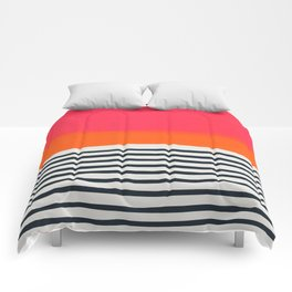 Sunset Ripples Comforters