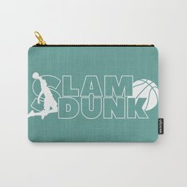 Slam Dunk (white) Carry-All Pouch