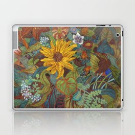 flower 2【Japanese painting】 Laptop & iPad Skin