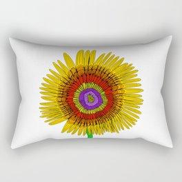 Thelma Flower Rectangular Pillow
