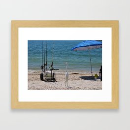 Checking Things Out Framed Art Print