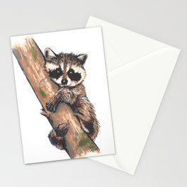 Little raccoon Stationery Cards