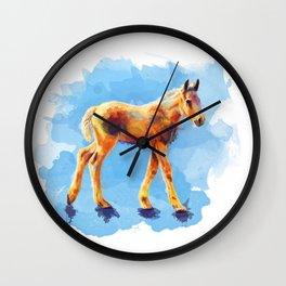 Little Horse Wall Clock