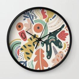 J A Z Z Wall Clock