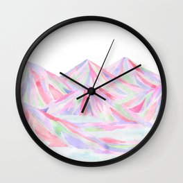 Colorful Landscape Wall Clock