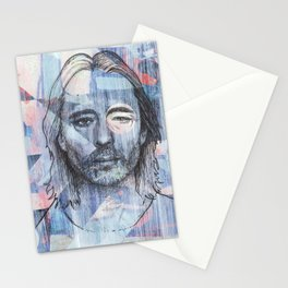 Thom Yorke - Where I End and You Begin Stationery Cards