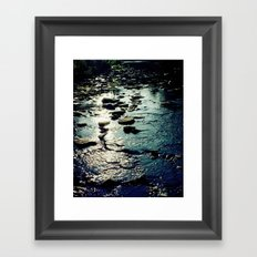 Ithaca Creek Framed Art Print