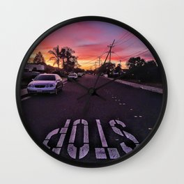 California Dreaming Wall Clock