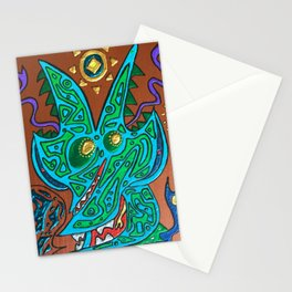 Outer Monologue Stationery Cards
