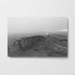 Hadrian's Wall near Winshields Metal Print