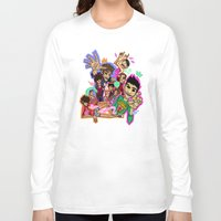 cargline Long Sleeve T-shirts featuring Collage by cargline