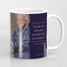 Downton Abbey Lady Violet Crawley Dowargess Countess Maggie Smith Coffee Mug