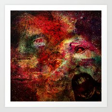 Spirits Residual (With Ganech Joe) Art Print