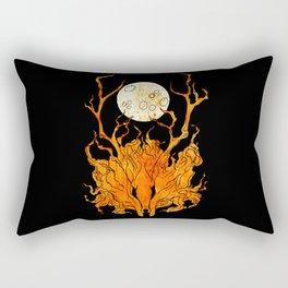 Halloween Deer Rectangular Pillow