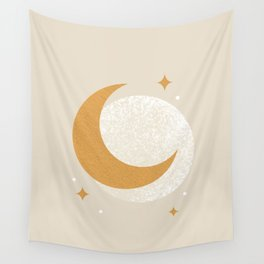 Moon Sparkle - Celestial Wall Tapestry