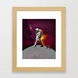 houston we have a problem Framed Art Print
