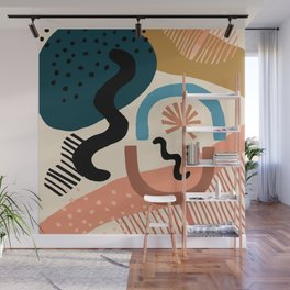 Shapes Party Wall Mural
