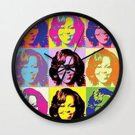 Michele Obama FLOTUS Wall Clock