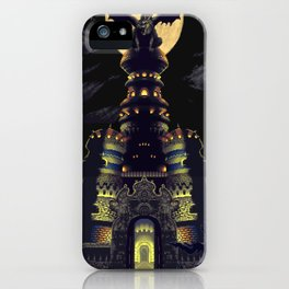 Chrono Trigger Magus' Castle iPhone Case