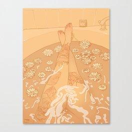 Flower Bath 10 (uncensored version) Canvas Print
