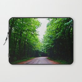 Winding Road in Forest Laptop Sleeve