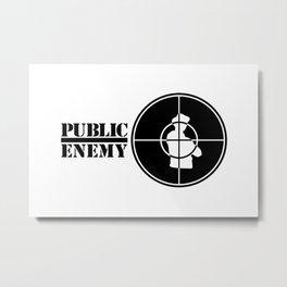 Public Enemy Metal Print
