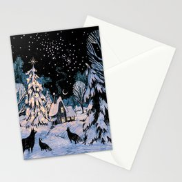Yule Stationery Cards