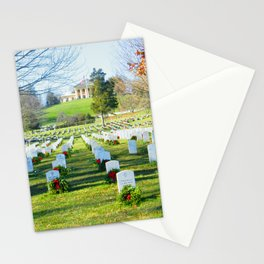 arlington national cemetery photography art Stationery Cards